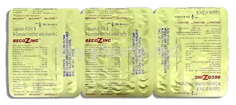 Vitamin Zinc Complex becozinc zinc b complex vitamin c buy becozinc zinc