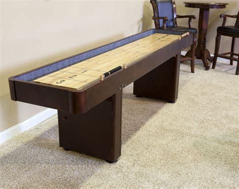 Best Shuffleboard Table by 12 Level Best Shuffleboard Warm Chestnut Shuffleboard Net