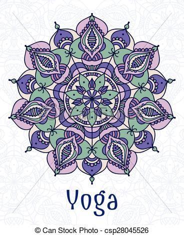 imagenes mandalas yoga ilustraci 243 n vectorial de mandala yoga circular estilo