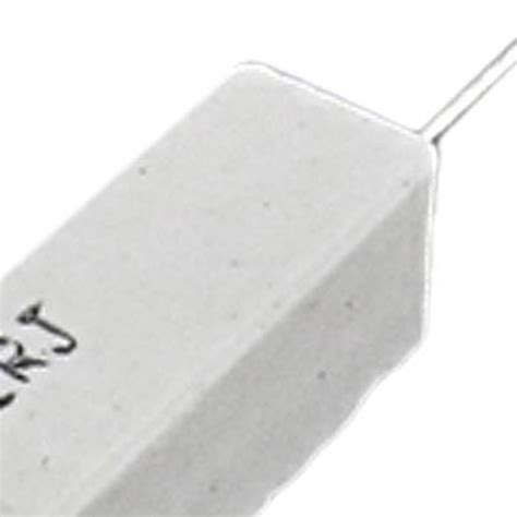 10 watt 10 ohm wire wound load resistor 10 pcs wire wound ceramic cement resistor 2 ohm 10w watt wd ebay