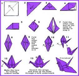 how to make an origami crane oragami origami cranes and