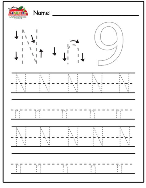 kindergarten activities letter n letter n activities preschool lesson plans