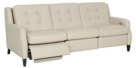 power reclining sofa modern saville mid century modern power wall hugger reclining sofa