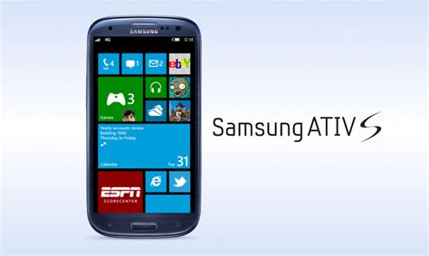 Samsung Windows Smartphone Technology Samsung Ativ S Windows Phone 8