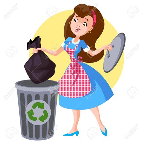 Toss Takes Out On Your Superiors by Throw Rubbish Clipart Clipground