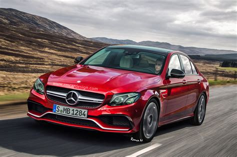 2017 mercedes amg e63 gets a realistic if somewhat