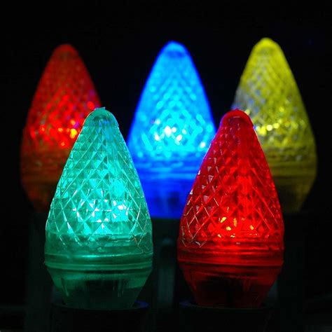 Novelty Patio Lights Multi Led C7 Replacement Bulbs And Ls