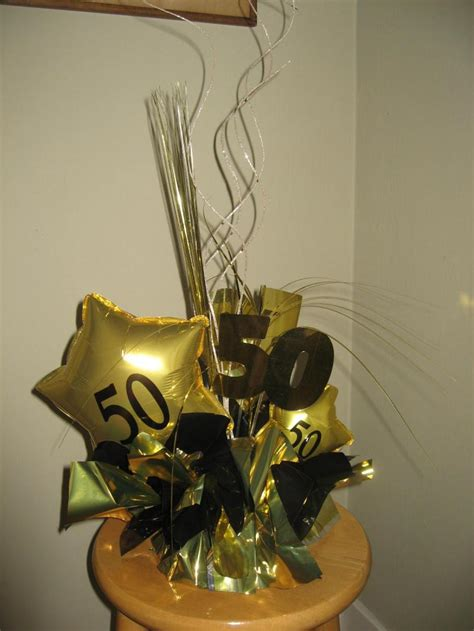 centerpieces for 50th birthday balloon decor of central california home