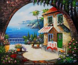 Mediterranean Wall Murals oil painting of animal picture more detailed picture