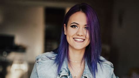 10 hair color 10 purple hair color trends to try in 2018 l or 233 al