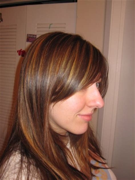 foil highlights for brown hair light brown hair with foils