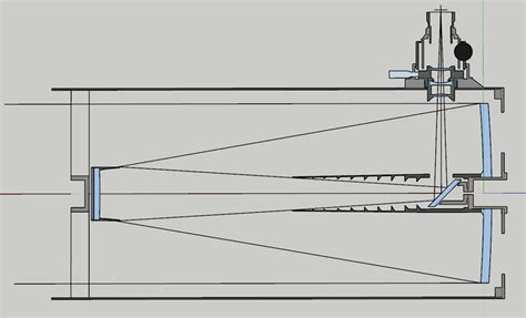 layout sketchup mm a 400 mm f 12 5 telescope with integrated adc atm