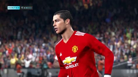 manchester united official 2018 1785494481 pes 2018 cristiano ronaldo manchester united ps4 hd 1080 p60 youtube