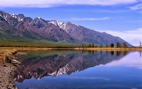 In The Lake world visits lake baikal world heritage site in siberia