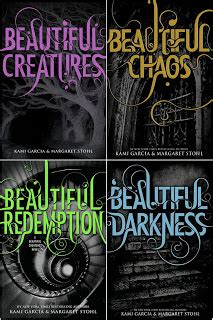 beautiful creatures series books review and lena duchannes