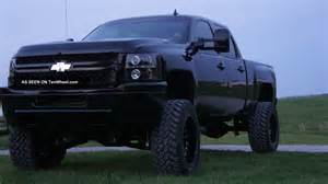 2011 chevrolet silverado 2500 hd duramax lifted blacked out