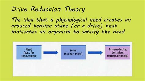 drive reduction theory exle ppt 2 quick definitions powerpoint presentation id