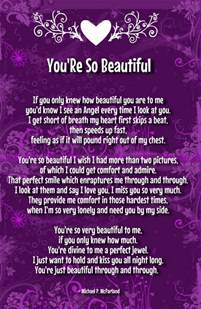 You?re So Beautiful Poems for Her