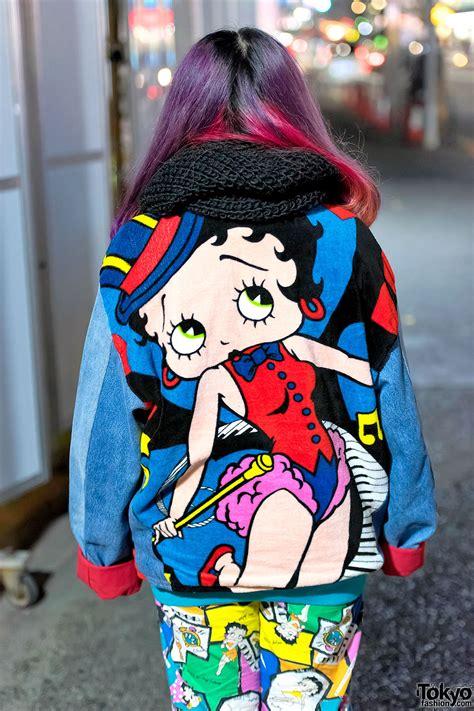Slingbag Handbag Mickey Mouse Fashion harajuku in colorful styles w betty boop