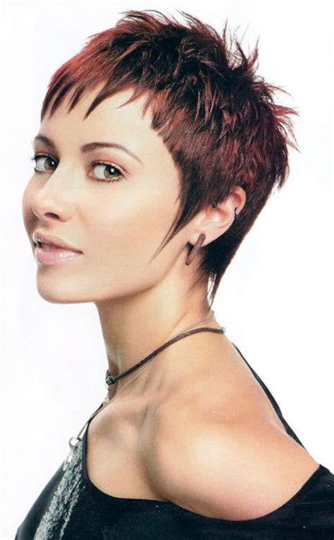 hairstyles for short hair cool 30 funky short spiky hairstyles for women cool trendy