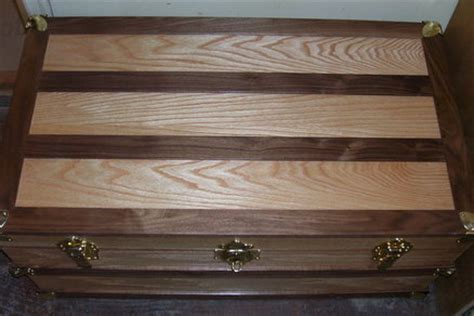 steamer trunk  rasta  lumberjockscom woodworking