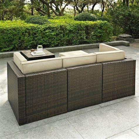 Crosley Outdoor Furniture by Crosley Furniture Palm Harbor 5 Outdoor Wicker