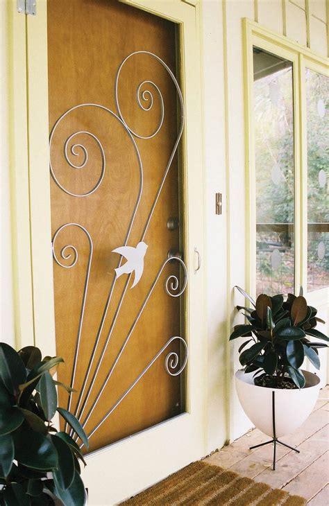 Vintage Screen Door by 2 Manufacturers 18 Styles Screen Door Inserts With