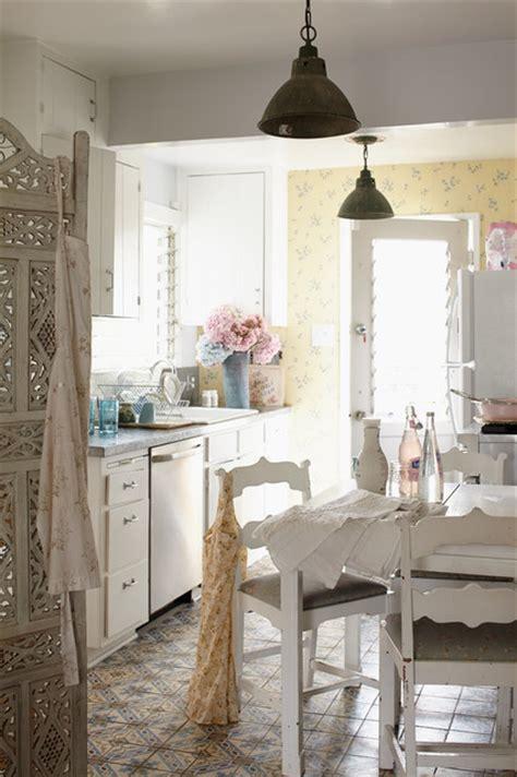 beautiful boho in venice beach shabby chic style kitchen los angeles by rachel ashwell