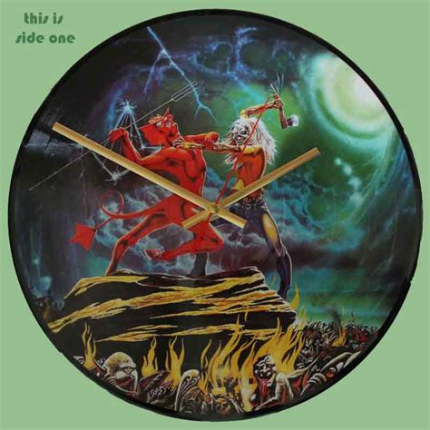 Vinyl Iron Maiden The Number Of The Beast iron maiden the number of the beast vinyl clocks