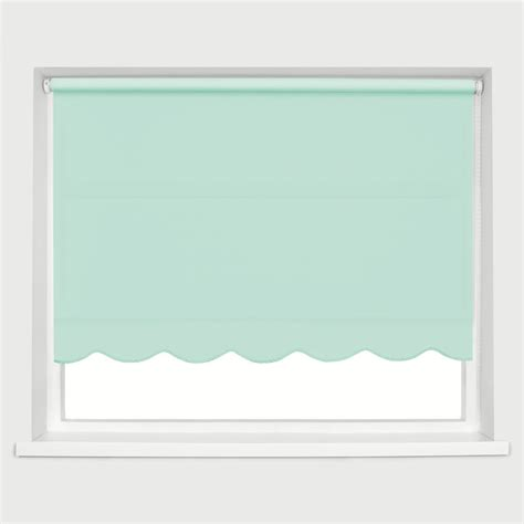 roller shades with scalloped edge scallop edge roller blind braided scallop edge many