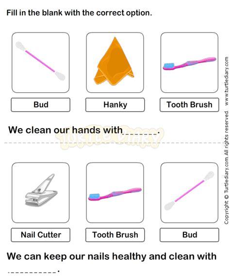 personal hygiene worksheet 16 science worksheets grade