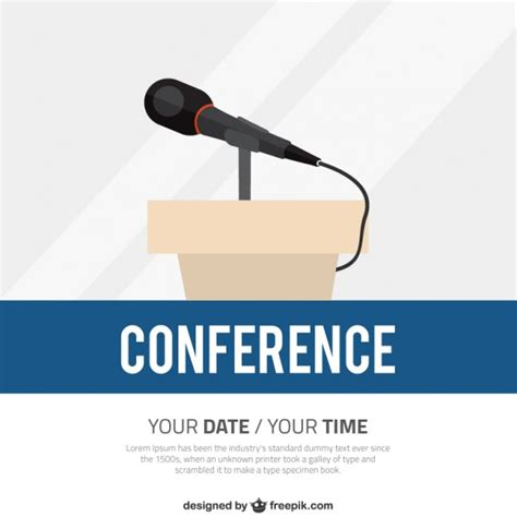 conference poster template conference poster template vector free