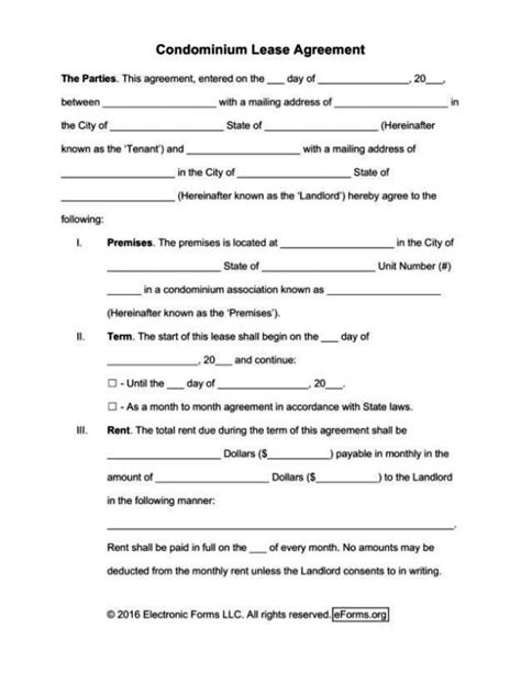 renters lease agreement template free sletemplatess
