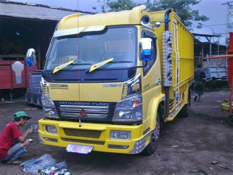 modifikasi mobil truk mitsubishi ps  terbaru