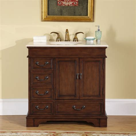 bathroom vanities 36 inches 36 inch single sink bathroom vanity with marble counter