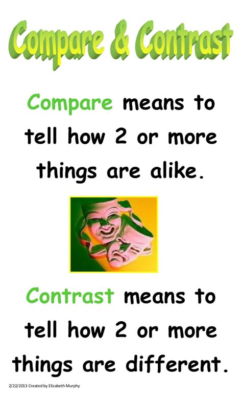comparing themes quizlet compare contrast essay format point point the best way