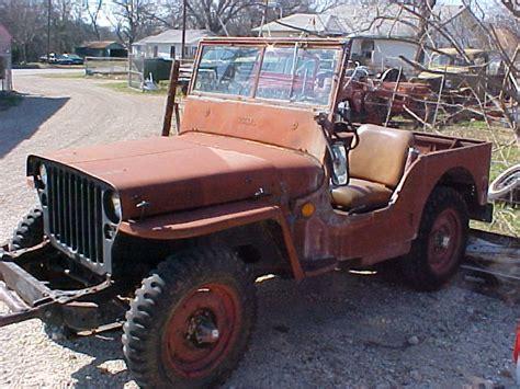 1942 Ford Jeep Gpw Tulsa
