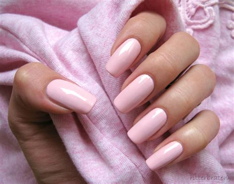Pink Nail by Top 45 Amazing Light Pink Acrylic Nails