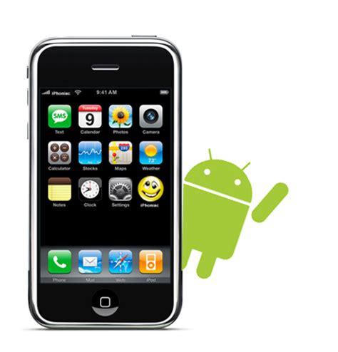iphone for android android tutorial para instalar android en tu iphone 4 taringa