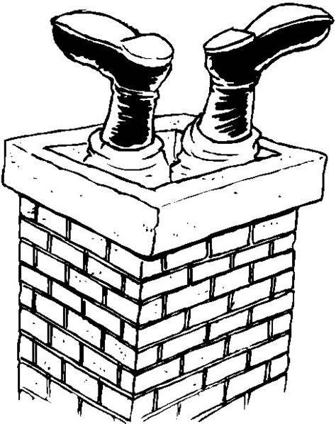 coloring pages santa chimney free coloring pages of christmas chimney