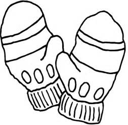 mitten coloring page kidprintables coloring pages