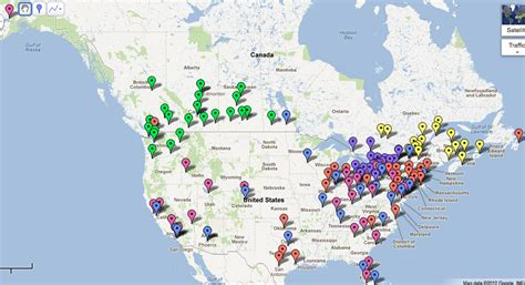 canadian hockey map a sport of nations