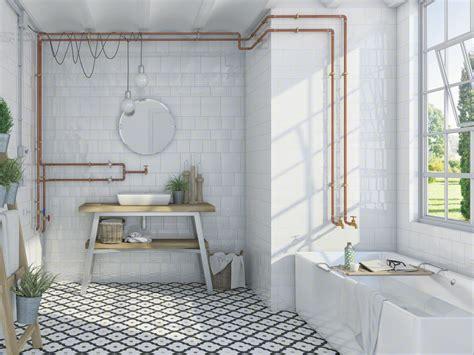 vintage badkamerl wandtegel badkamer retro