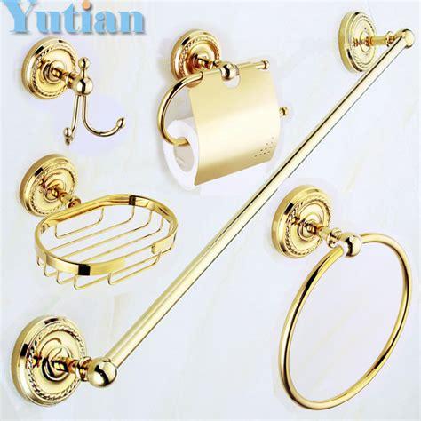 accessori bagno oro acquista all ingrosso accessori per il bagno oro da