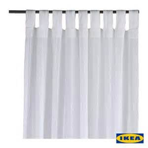 Ikea Sheer Curtains Brand New Ikea Matilda 2 Panels Curtains 57 X 98 Quot Each Sheer Window Drapes White Ebay