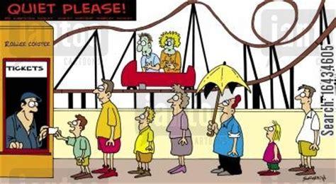 theme park jokes rollercoasters cartoons humor from jantoo cartoons