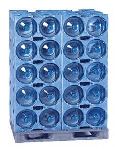 3 5 gallon water bottle plastic storage rack prostack