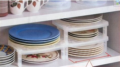 new vertical cup plate dish rack shelf cabinet kitchen