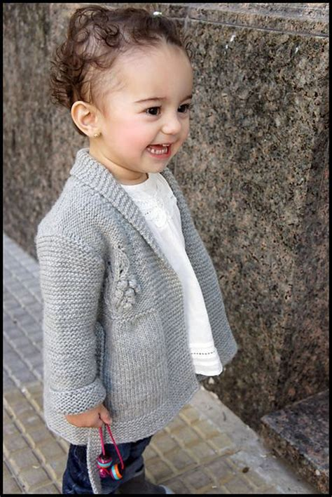 Joji Girly Children S Cardigan Knitting Pattern