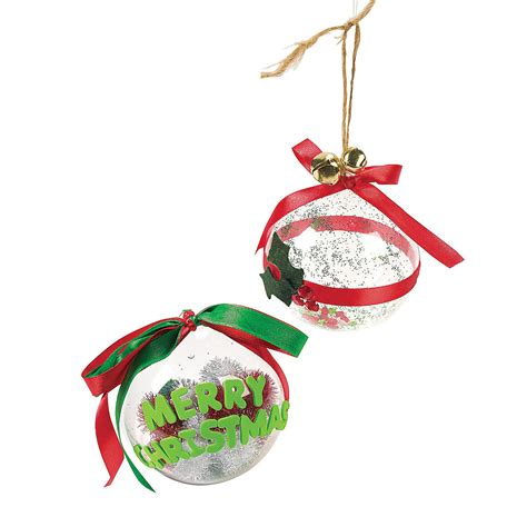 diy large clear christmas ornaments oriental trading